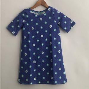 NWT GYMBOREE  BLUE FLOWER DRESS